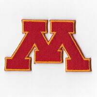 NCAA Minnesota Golden Gophers Iron on Patches Embroidered Patch Applique Badge