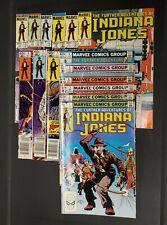 """(15) 1983 - 1984 Marvel Comics, Vol.1 #1 - #11 & #13 - #16, """"Indiana Jones"""""""