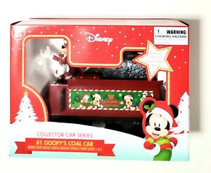 NEW Disney Mickey Mouse Holiday Express-Goofy's Coal Car Collector Series Train