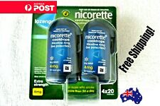 Nicorette Cooldrops Lozenges Extra Strenght 4mg 80 Pieces  Icy Mint