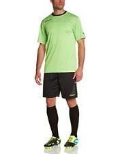 Uhlsport Match Ensemble Maillot manches courtes Short de Foot Homme Vert Flash