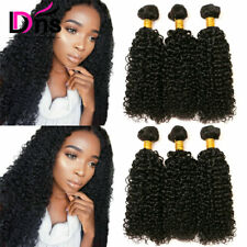 Kinky Curly 3 Bundles 300G 100% Unprocessed Human Hair Brazilian Virgin Hair 8A