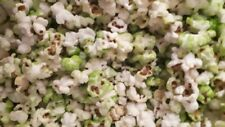 Popcorn sweet green colour with a hint of apple flavour 300g Vegetarian