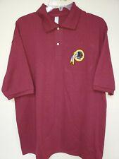 0909 Mens Nfl Apparel Washington Redskins Polo Golf Football Jersey Shirt Maroon