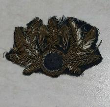 REGIA AERONAUTICA-Fregio da copricapo Repubblica Sociale Italia-WW2-WORLD-ITALIA