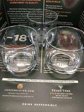 Set Of 3 Jim Beam Bourbon Whiskey Rocks Glasses Brand New