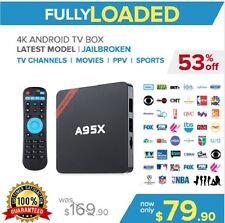 Android TV BOX Kodi 17.3 QUAD CORE!! Movie Sports 18+ EVERYTHING JAILBR0KEN