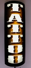 Tattoo Shop / Store led Lighted 3D curved wall sign wall sconce