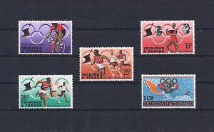 Trinidad & Tobago 1968 Mexico Olympics  VF MNH Classics
