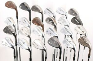 Lot of 24 Golf Wedges Nike Titleist Callaway Rife TaylorMade Cleveland Ping Rh