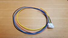 PIONEER 4 PIN POWER PLUG LEAD CABLE,DEQ PEQ DSP EQ DEH KEH OLD SCHOOL RETRO WIRE