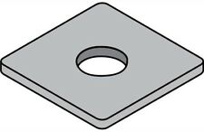 Unistrut SQUARE WASHER UNIUN40-12SS M12 Metric Thread, Stainless Steel