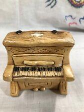 Vintage Pendelfin Hand Painted Stonecraft Piano