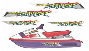 YAMAHA WAVERAIDER 1994 Graphics / Decal Replacement Kit