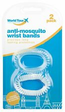 2pc 100% Natural Anti Mosquito Repellent Insect Wrist Bands 100+ Hours Protectio