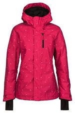 New 2015 O'Neill Womens Underground Snowboard Jacket Medium Framboise Pink