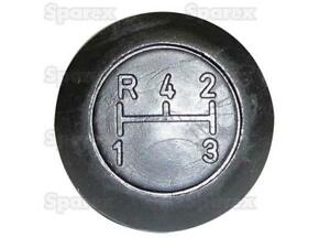 3599998M1 Shift Gear Knob with Stamped Engraved S44063 Massey Ferguson Tractor