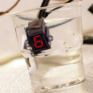 Universal 6 Speed N-6 Digital Display Shift Lever Sensors Gear Display Waterprof