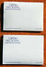 ORTHO TRI-CYCLEN™ Two Sealed Packs of NOS Sticky Note Pads w/ Package Insert *M*