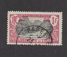 FRENCH POLYNESIA - 49, 51 - 53 - USED 1913 - 1930 -  FAUTAUA VALLEY