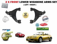 MG MGF 1.6 1.8 VVC 1995 -2002 LEFT & RIGHT 2X LOWER WISHBONE SUSPENSION ARM SET