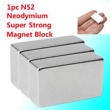 N52 Aimant Cuboïde Néodyme Puissant Magnet Magnétique Terres Rares 30x20x10mm