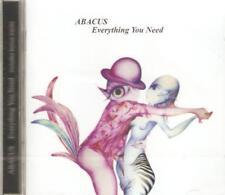 ABACUS - EVERYTHING YOU NEED 72 GERMAN ROCK BAND 3rd ALBUM SLD CD +2 BONUS TRKS