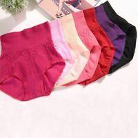 1pc Women High Waist Panties Seamless Slim Underwear Tummy Control Body -