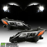 For 2018-2019 Toyota Camry TRD Models LED Projector Headlights Headlamps Pair