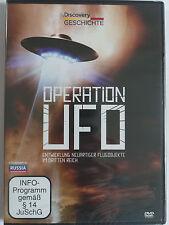 Operation UFO - Entwicklung neuartiger Flugobjekte - Hatten Nazi Ufos? Hitler
