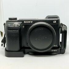 Sony Alpha NEX-6 16.1MP Digital Camera Black Body, L Bracket