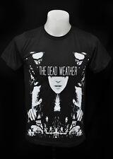 The Dead Weather dark grey punk rock crew 100% cotton tee t-shirt size M