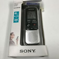 Sony Icd-Bx140 4Gb Digital Voice Recorder-Brand New (Ship Fast)