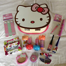 Hello Kitty Vanity Case & Make Up Set - Choc full of Hello Kitty Make Up Goodies