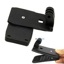Black Travel Quick Clip Mount for GoPro HD Hero 2 3 3+ 4 Camera Accessories TO