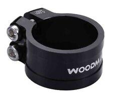 Woodman Deathgrip TC-DB Seat Seatpost Clamp Light Weight Alloy Black 20 x 34.9mm