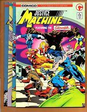 Justice Machine 1 2 3 4 Full Set Elementals NM- to NM+