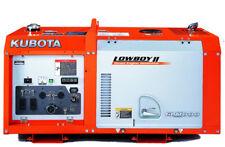 Brand New Kubota GL11000 LowboyPro 11kW 11000 Watts Diesel Generator $150 off!