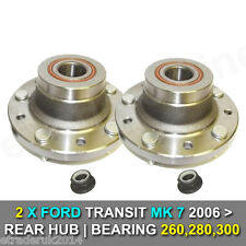 2 X FORD TRANSIT MK7 REAR WHEEL BEARINGS HUB 260 280 300 FWD 2006> 2-2 DIESEL