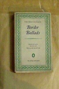 """Border Ballads"" The Penguin Poets.  No. D20.  1952     Vintage Penguin 1st."