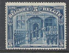 Belgium 1915 OBP 147 signed  MLH  VF