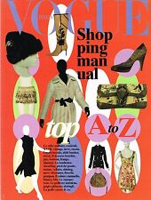 VOGUE Italia SHOPPING MANUAL TOP A-Z August 2005 Accesories Shoes Bags @NEW@