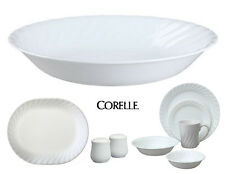 "Corelle Impressions 8 1/2"" ENHANCEMENTS White SWIRL 20-oz PASTA Soup BOWL *New"
