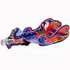 Santas Sleigh Flying Poly Glider Toy - Christmas Stocking Filler Gift Girl Boy