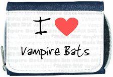 I love coeur Chauves-souris vampires Denim Portefeuille