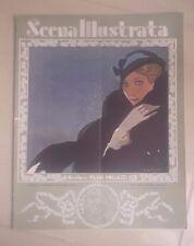 RIVISTA SCENA ILLUSTRATA LIBERTY 1933 N. 23 - 24 LETTERATURA ARTE SPORT BOTTARO