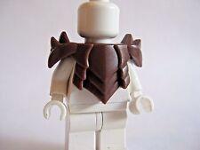 Custom HORNED PLATE ARMOR for Lego Minifigures Castle LOTR Orc Assassin -BROWN-