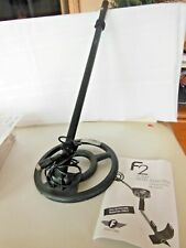 """Fisher 8"""" Round Black Metal Detector Search Coil 8Coil- F2 Hobby Metal Detector"""