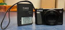 Canon Powershot SX740 HS 20.3MP 4K Digital Camera - Black