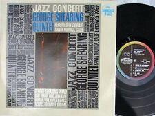George Shearing Quintet ORIG OZ LP Jazz concert EX '63 Capitol T1992 MONO Bop